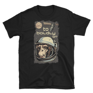 TO BOLDLY GO - HILLTOP TEE SHIRTS