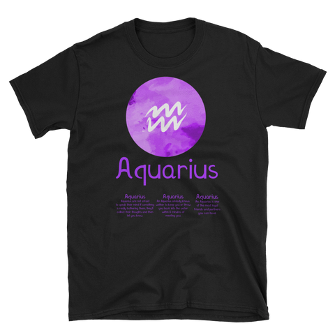 AQUARIUS - hilltop-tee-shirts