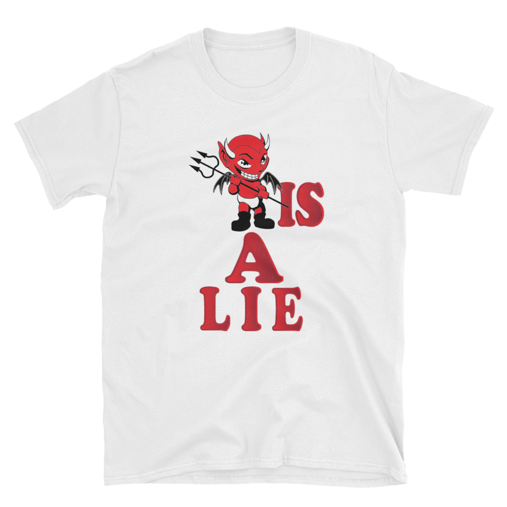 DEVIL IS A LIE - HILLTOP TEE SHIRTS