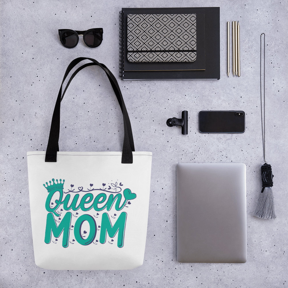 Tote bag (QUEEN MOM) - HILLTOP TEE SHIRTS