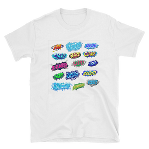 comic word - HILLTOP TEE SHIRTS