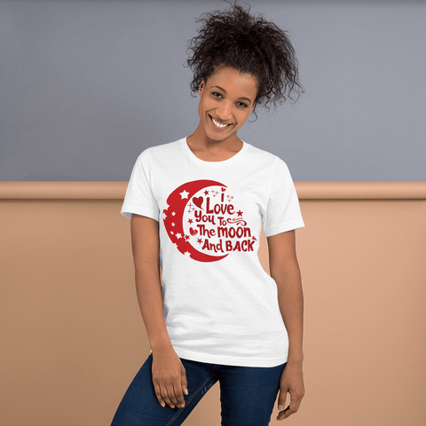 I LOVE YOU TO THE MOON AND BACK - HILLTOP TEE SHIRTS
