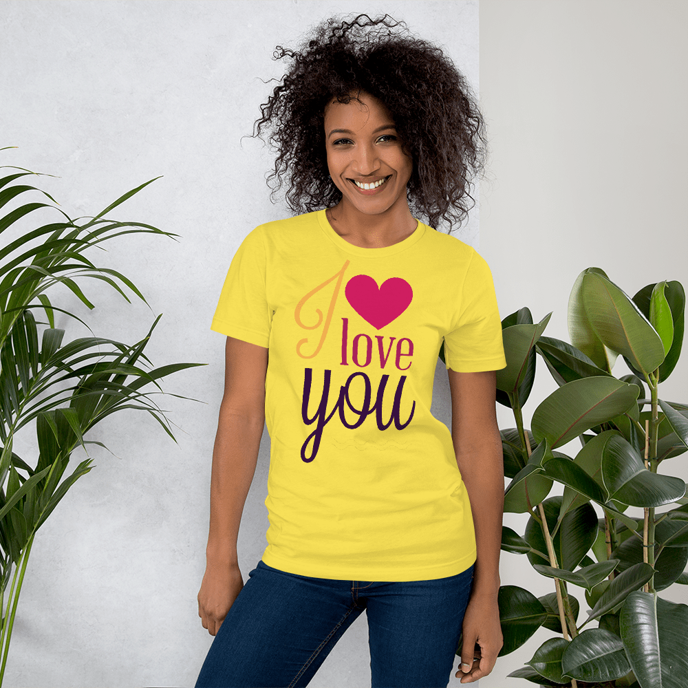 I LOVE YOU - HILLTOP TEE SHIRTS