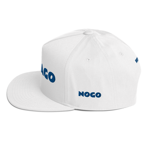 Flat Bill Cap NORTH CHICAGO NOGO HERVEY - HILLTOP TEE SHIRTS