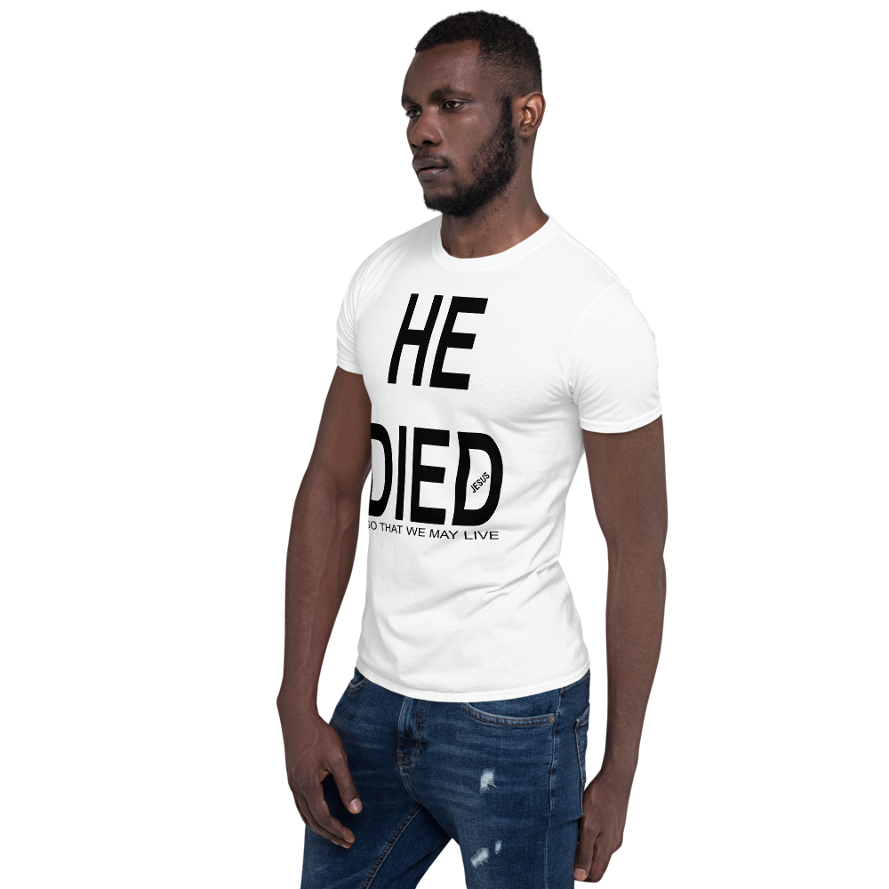 HE DID SO THAT WE MY LIVE #115 - HILLTOP TEE SHIRTS