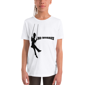 Youth Short Sleeve T-Shirt no worries - HILLTOP TEE SHIRTS