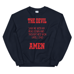 Sweatshirt THE DEVIL - HILLTOP TEE SHIRTS