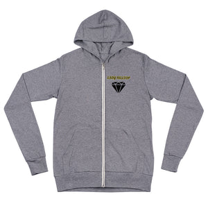 Unisex zip hoodie LADY HILLTOP MY GOAL IS TO MAKE IT TO THE TOP