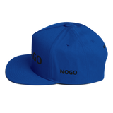 Flat Bill Cap  NORTH CHICAGO NOGO GREENFIELD - HILLTOP TEE SHIRTS