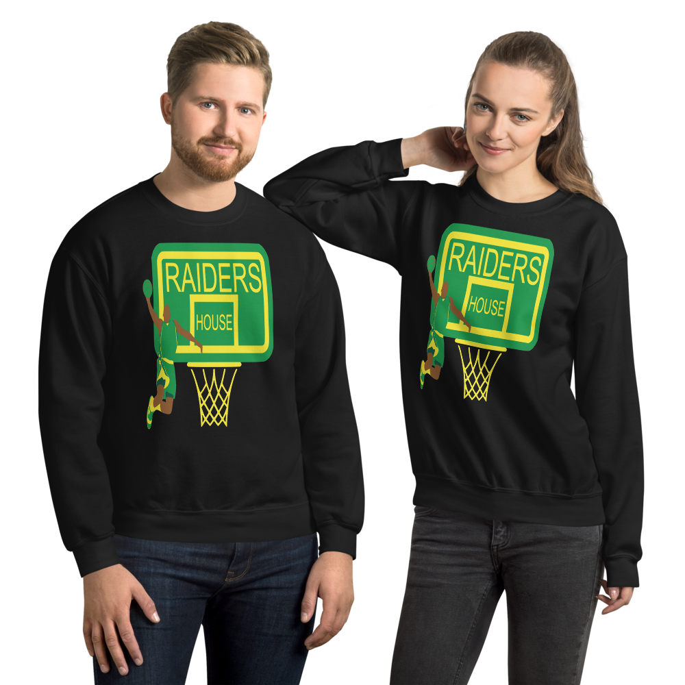 Sweatshirt RAIDERS HOUSE - HILLTOP TEE SHIRTS
