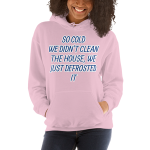 SO COLD WE DIDN'T CLEAN THE HOUSE, WE JUST DEFROSTED IT - HILLTOP TEE SHIRTS