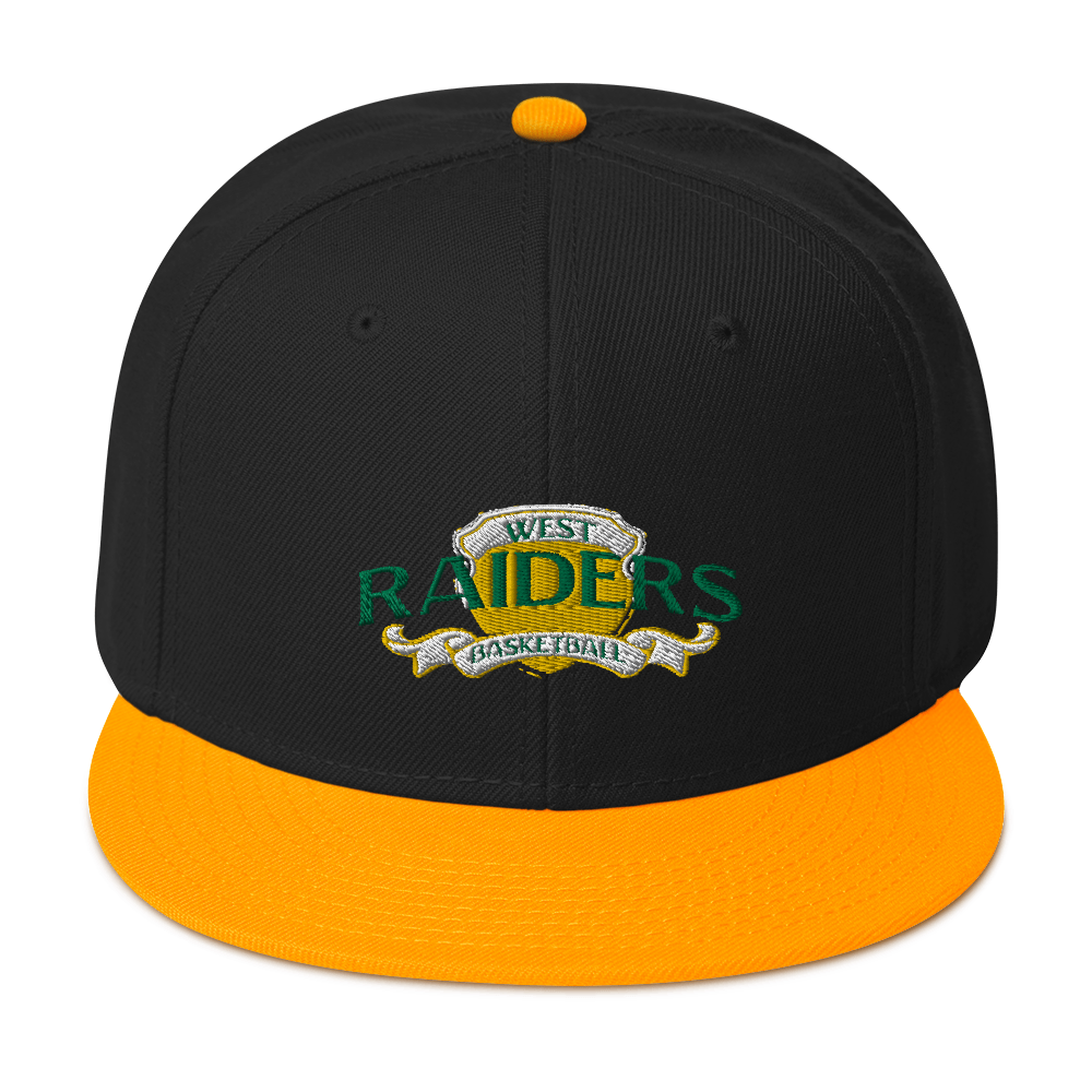 Snapback Hat WEST  RAIDERS BASKETBALL - HILLTOP TEE SHIRTS