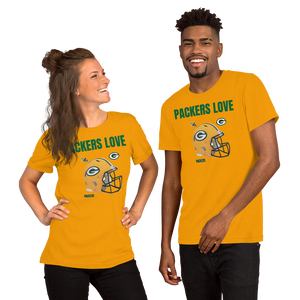 PACKERS LOVE - HILLTOP TEE SHIRTS