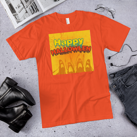 HAPPY HALLOWEEN - hilltop-tee-shirts