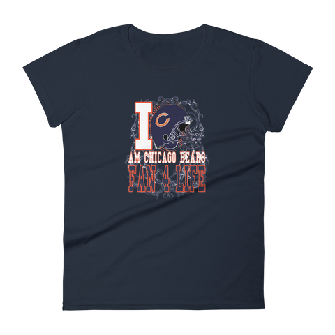 I AM CHICAGO BEARS FAN 4 LIFE #44 - HILLTOP TEE SHIRTS