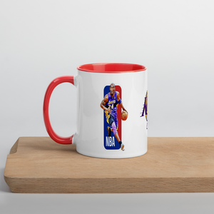 Mug with Color Inside  (KOBE) - HILLTOP TEE SHIRTS