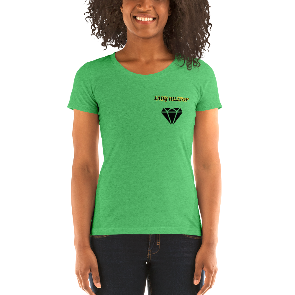 Ladies' short sleeve t-shirt LADY HILLTOP MY GOAL IS TO MAKE IT TO THE TOP