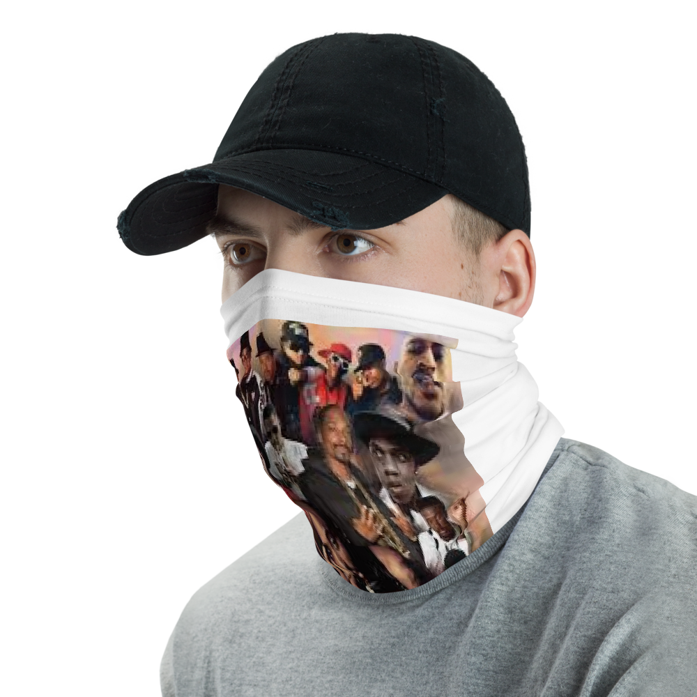 Neck Gaiter BEST RAPPERS - HILLTOP TEE SHIRTS