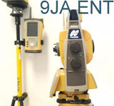 "Topcon GTS-903A 3"" Robotic Total Station Kit w/ FC-250 Topsurv 8 RC-4R PRISM"