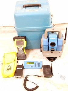 Trimble Spectra Precision Focus 10 5600 2.4Ghz Robotic Total Station Survey TSC2