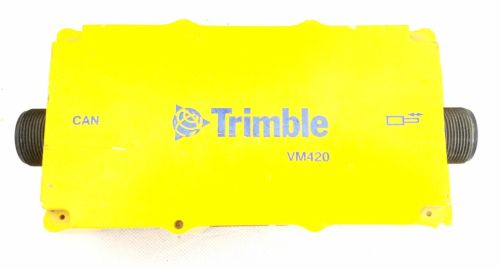 Trimble VM420 Machine Control Valve Module 55013-10 GCS900 ACCUGRADE 0395-1600