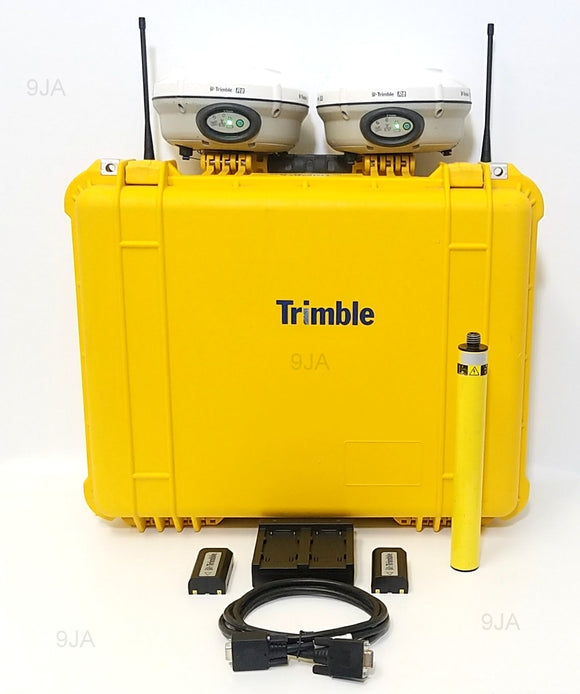 Dual Trimble R8 Model 3 UHF Base & Rover Glonass Survey Sytem 450-470Mhz