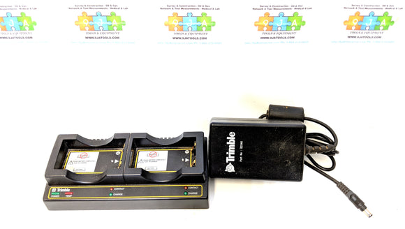 Trimble OEM Dual Bay Battery Charger P/N 41114-00