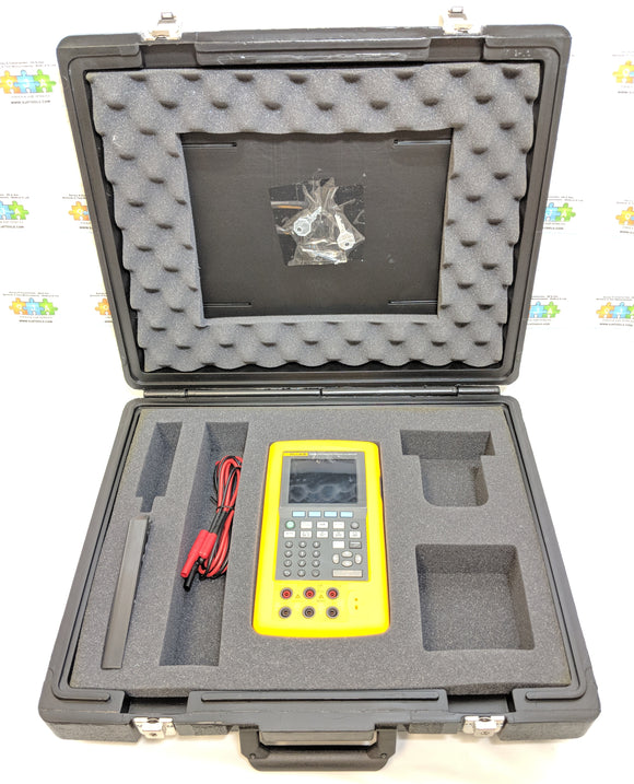 Fluke 743B Documenting Processing Calibrator Data Logger