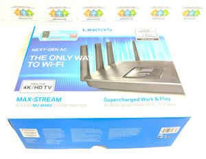 Linksys AC5400 Mu-Mimo Tri Band Wifi Router EA9500