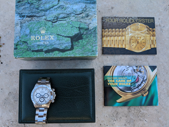 Rolex Daytona 16520  Watch W Serial w/ Zenith Movement 95