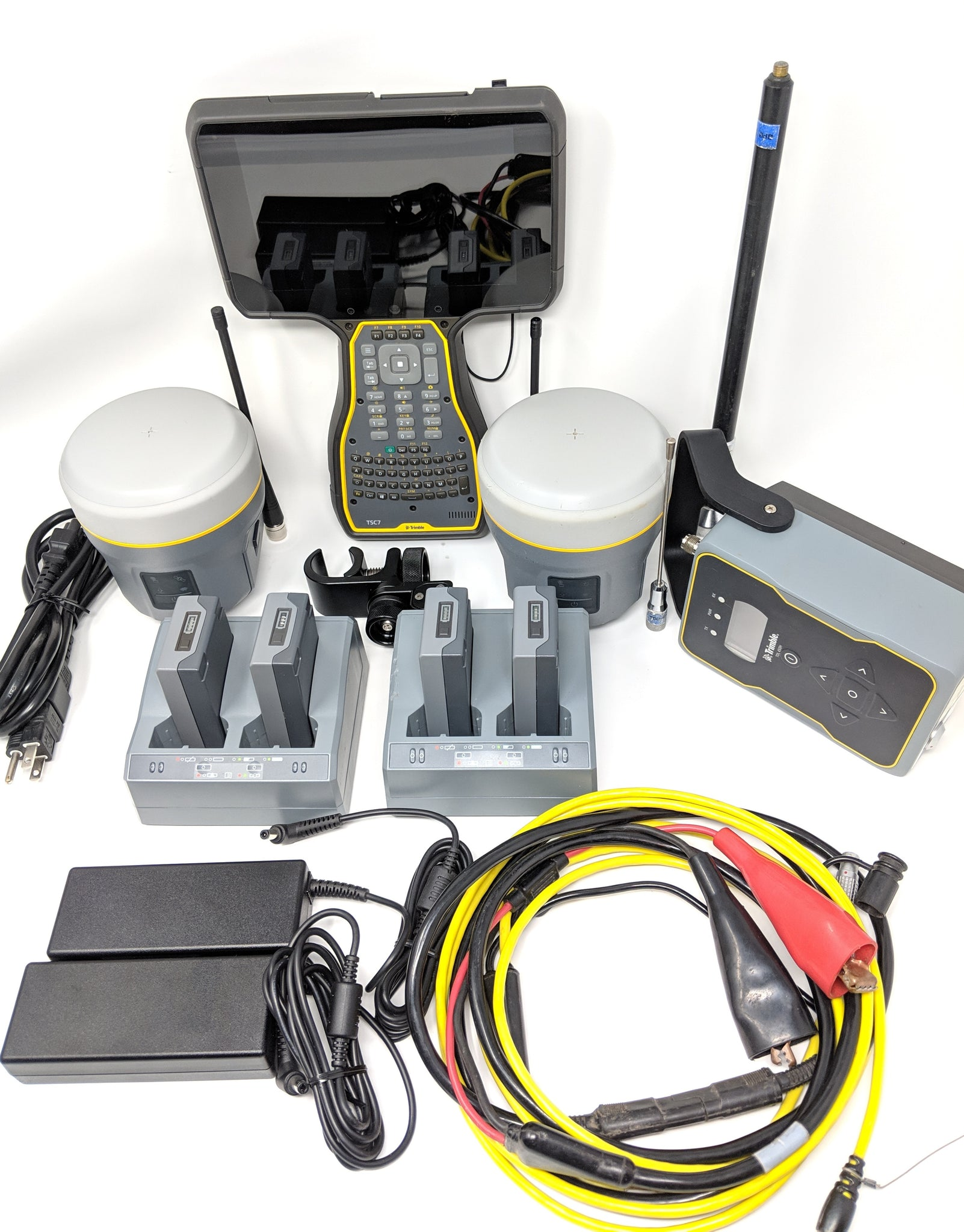 Trimble R10 Base & Rover with TSC7 and TDL450H Complete RTK Kit