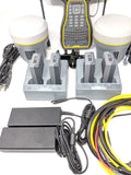 Trimble R10 Base & Rover with TSC7 and TDL450H Complete RTK Kit Package For Surveying