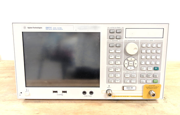 Agilent Keysight E5071C ENA Vector Network Analyzer Opt 280 019 1E5 8.5GHz