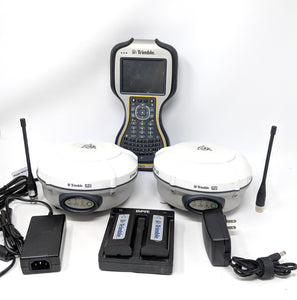 Trimble R8 model 4 GNSS UHF 450-470Mhz Base & Rover Receiver with TSC3 Trimble Access