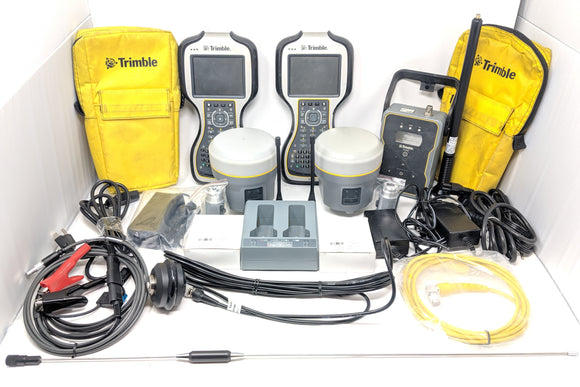 Trimble Dual R10 Kit TSC3 TDL450H UHF 403-470MHz GNSS xFill Complete