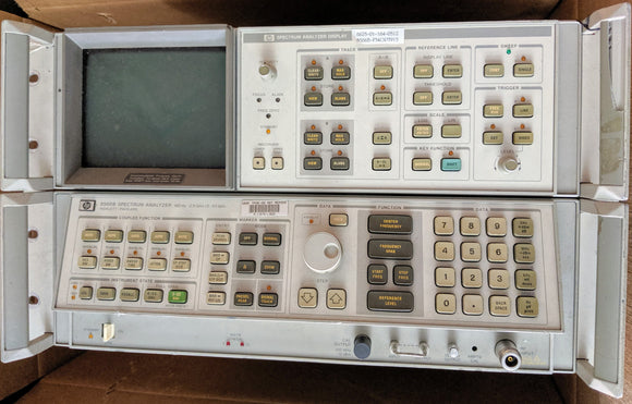 HP - Agilent - Keysight 8566B Spectrum Analyzer, 100Hz to 22GHz