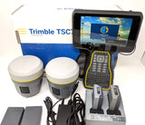 Trimble R10 Base & Rover RTK Kit with TSC7 Field Collector UHF kit for Surveying
