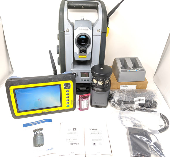 Trimble RTS655 DR Robotic Total Station kit with MEP Fieldlink Tablet and MT1000 Prism