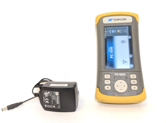 Topcon FC-500 Field Collector with POCKET 3D Software for Surveying & Construction
