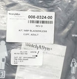 New Welch Allyn Inc. 008-0324-00 CUFF KIT (SM,LG.ADULT,THIGH) FREE SHIP