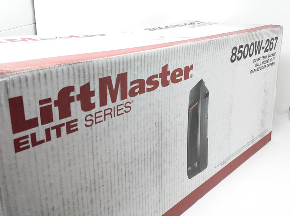 New LiftMaster Elite Series 8500W Jackshaft Garage Door Operator, MYQ, WiFi 8500W-267