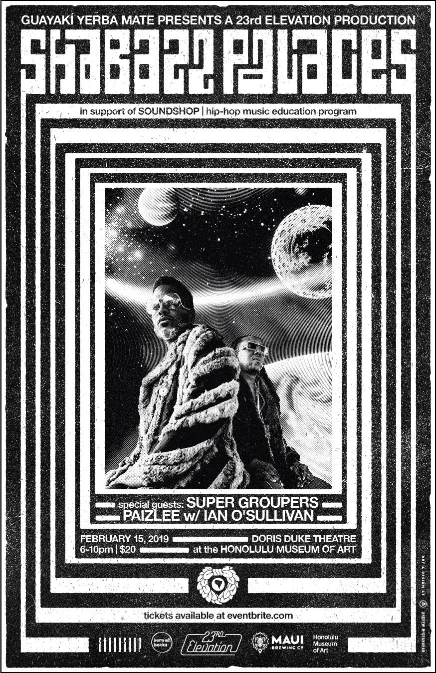 SHABAZZ PALACES - FRIDAY, FEBRUARY 15 (6-10 PM)