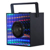 Bluetooth Speakers,Wireless Speaker with Mirror and AUX Audio TF Slot Colorful LED Light Dancing Handheld Portable