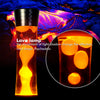 Lava Lamp Speakers Tower Wireless Bluetooth Night Light Speaker with Retro and Modern Design for Home