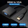 Gold-Plated Interface High Resolution HDMI to VGA Converter Adapter(Male to Female)