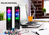 Water Dancing Speakers with LED Colorful Light Loud Dual Channel Stereo Bass