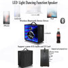 Bluetooth Speaker,Handheld Speakers Wireless 3.0+EDR Bluetooth Stereo Speaker IPX4 Waterproof Outdoor Sports Audio with Colorful LED Light Dancing Show for iPhone, iPad, Laptops, Smartphone