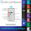 Rechargeable LED Night Light with Remote Control Music Bluetooth Speaker,Decorative Lighting