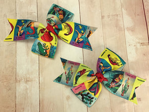 Loteria pigtail bow set