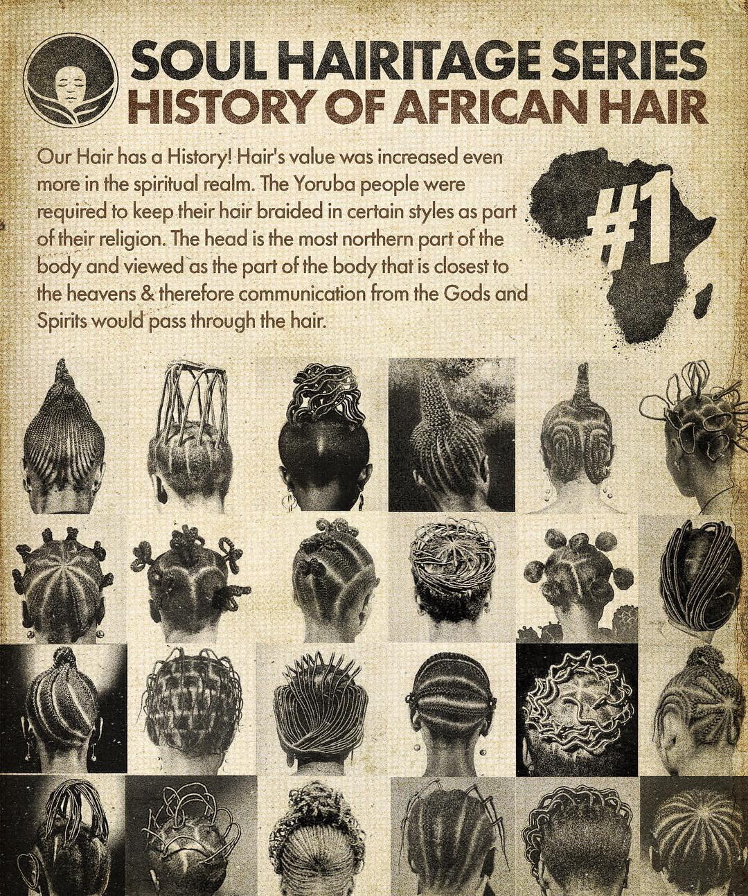 Soul Heritage Series- African Hair History Pt. 1